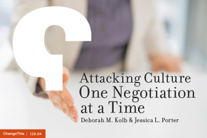 Attacking Culture One Negotiation at a Time