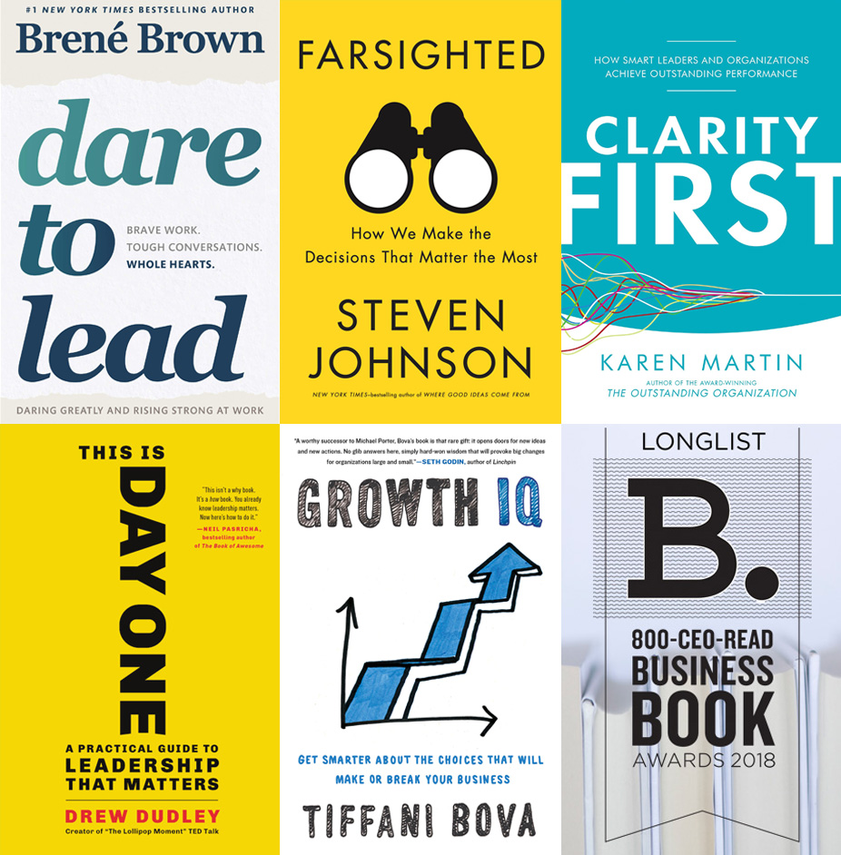 The 2018 800 Ceo Read Business Book Awards Leadership Strategy