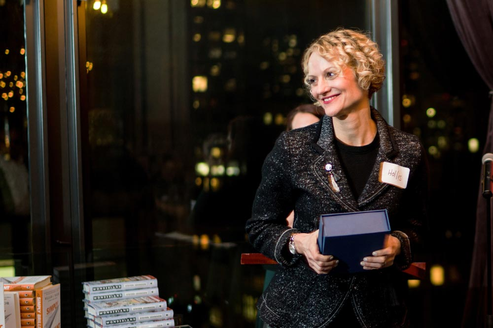 The 2016 Jack Covert Award for Contribution to the Business Book Industry: Hollis Heimbouch